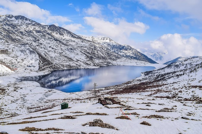Elephant lake east Sikkim