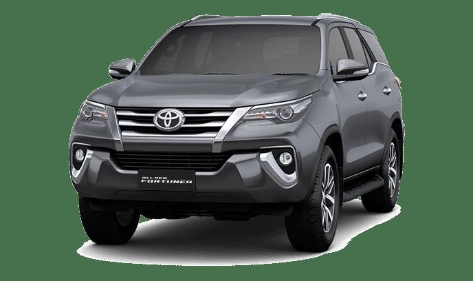 Toyota Fortuner TRD Dark Gray Mica Metallic