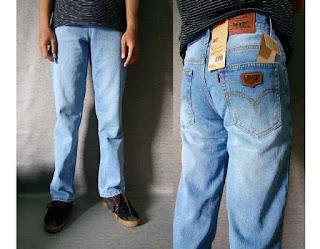 celana jeans pria, celana jeans levis, celana jeans murah, celana jeans standar
