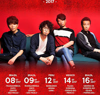 Asian Kung-Fu Generation Latinamerica tour 2017