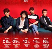 Asian Kung-Fu Generation Latinamerica tour 2017