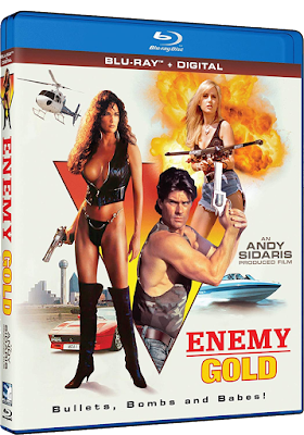 Cover art for Mill Creek's Blu-ray release of ENEMY GOLD.