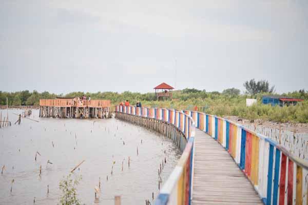 Eco Wisata Hutan Mangrove Pasir Putih Karawang