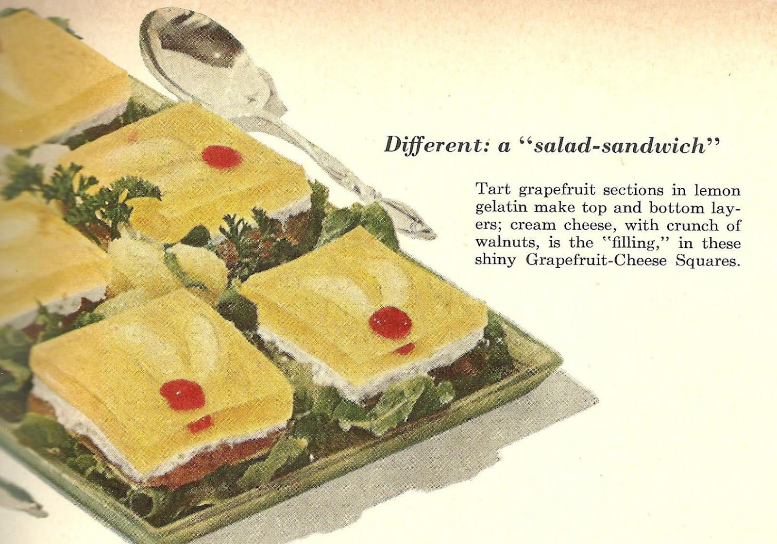 Vintage Recipes 1950S VintageRetro Recipes Cream Cheese