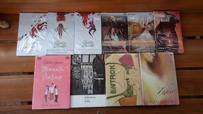 Paket novel gramedia 50 rb