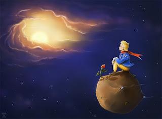 Μικρός Πρίγκιπας, αστέρια, πλανήτες, ευχή, πιλότος, ερμηνεία