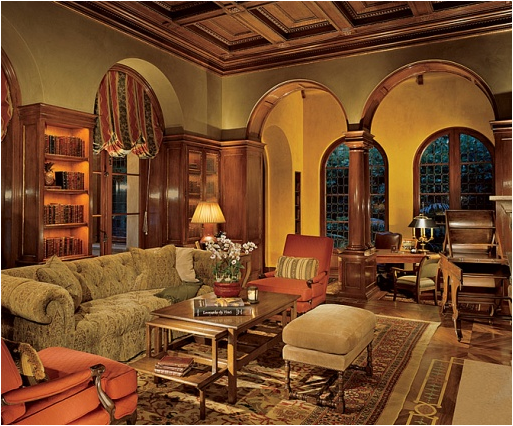 old style living room - photo #26