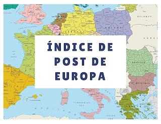 Índice de post de Europa
