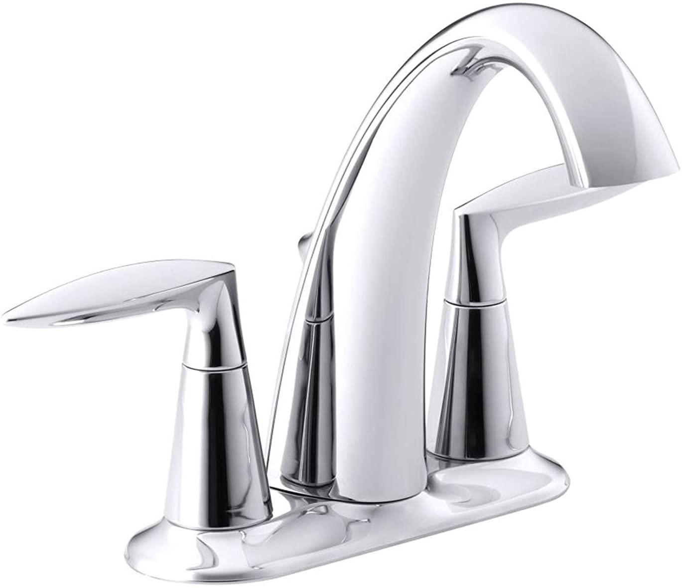 Kohler Alteo - Llave para lavabo, Cromo pulido