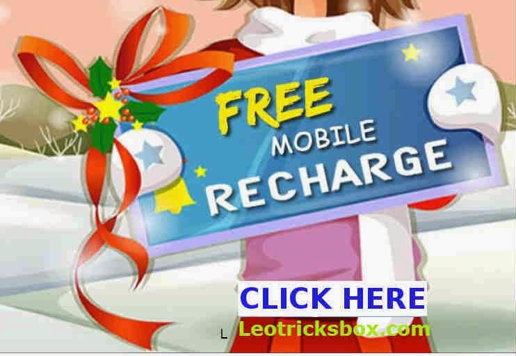 FREE Recharge of 10 rupees for signup and 10 for every Refer!!! 1