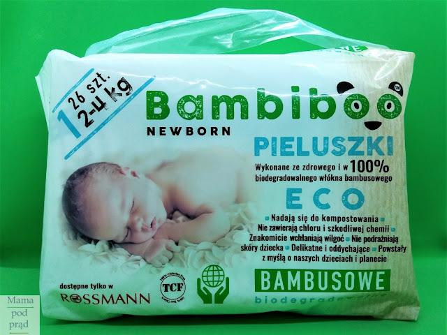 pieluszki jednorazowe, Bambiboo, Rossmann