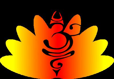 Aum Lotus Clipart, Spiritual Clipart, Free Clipart
