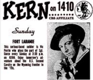 Fort Laramie Raymond Burr 8 radio shows 4 audio cds set 1 westerns