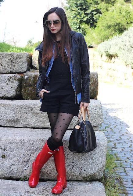 botas de lluvia para mujeres