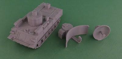 Soviet 1S91 or Straight Flush Radar Vehicle picture 2