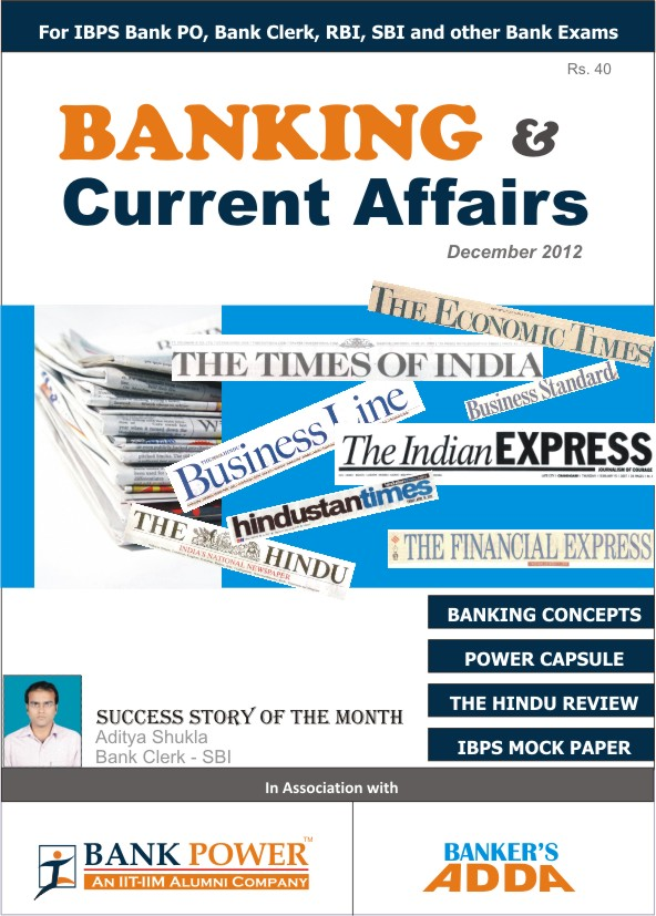 Bankers Adda Current Affairs June 2015 Pdf