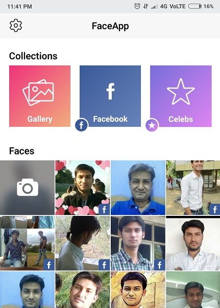 Face Changing App in hindi