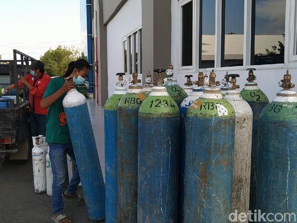 Stok Tabung Oksigen Menipis, RSI Banjarnegara Sampai Dibantu Pedagang Ikan