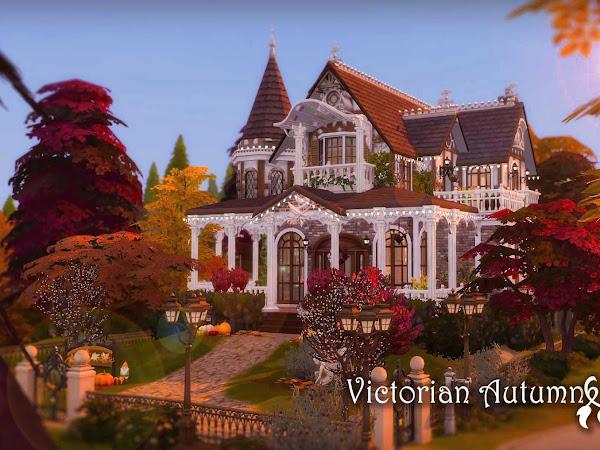 Sims 4 Victorian Autumn 秋天的維多利亞 [NO CC]