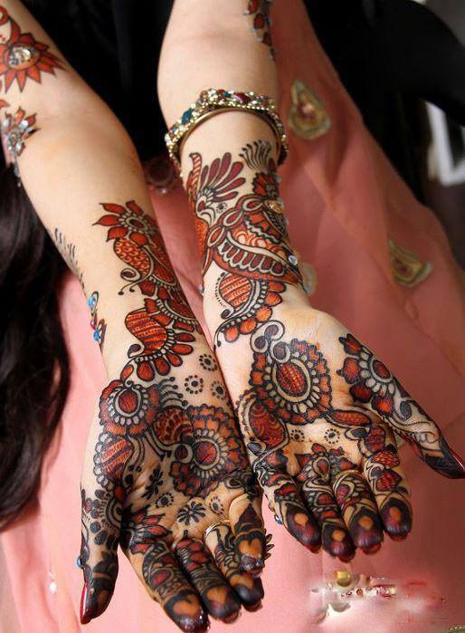 Bridal Mehandi Designs for Hands 3