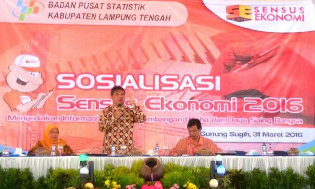 Junaidi : Sensus Ekonomi 2016 Harus Jadi Hajat Warga Indonesia