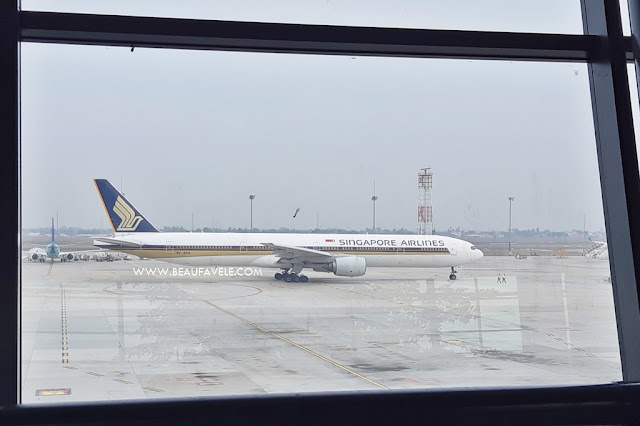 Penerbangan dengan Singapore Airlines