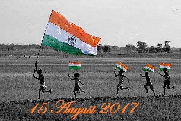 Indian Flag With Different Views: 15 August Hindi Speech 2018 ,Swatantrata Diwas Hindi