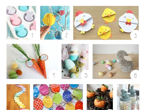 9 Idées DIY pour Pâques dénichées sur Pinterest !
