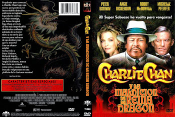 Carátula dvd: La maldición de la Reina Dragón (1980) (Charlie Chan and the Curse of the Dragon Queen)