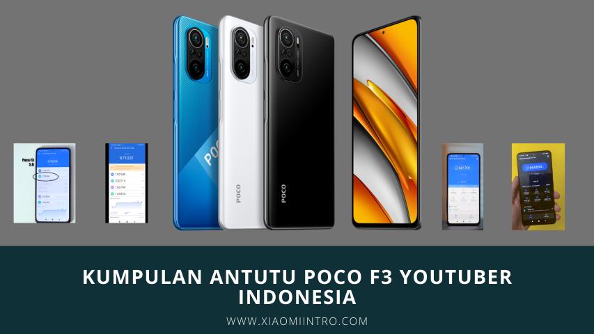 Kumpulan Antutu Poco F3 Youtuber Indonesia