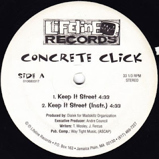 Concrete Click – Keep It Street / Naive To The Fact (VLS) (1995) [Vinyl] [FLAC]