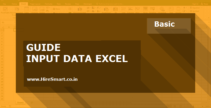 How To Enter Data In Microsoft Excel