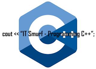Menampilkan teks bahasa program C++