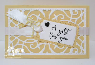 ODBD Custom Gift Card Holder Dies, ODBD Custom A Gift For You Dies, ODBD Custom Clouds and Raindrops Dies, ODBD All God's Blessings Stamp/Die Duos, Gift Card Holder Designed by Angie Crockett