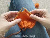 Knitting Tutorial: Wrap and Turn Short Row Heels The Chilly Dog