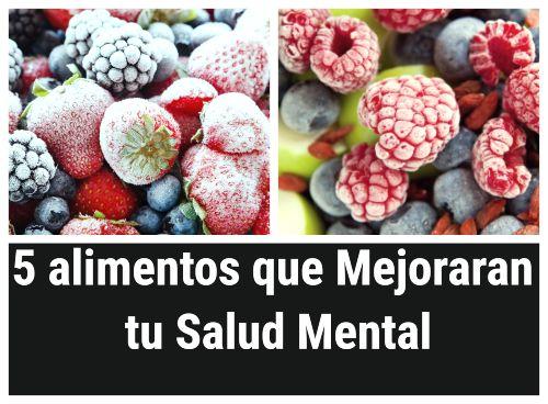 5 alimentos que puedes comer para mejorar la salud mental