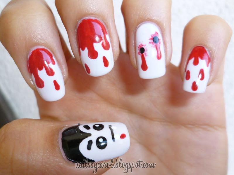Nails by Carol: Halloween Nail Art Challenge: Dracula