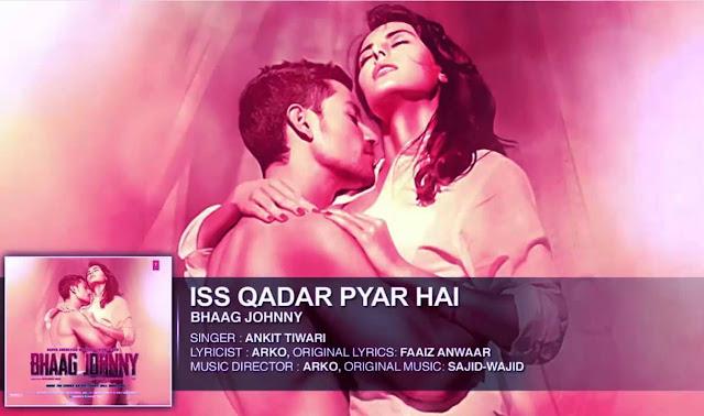 Iss Qadar Pyar Hai LYRICS Guitar CHORDS, Hindi song from the movie Bhaag Johnny