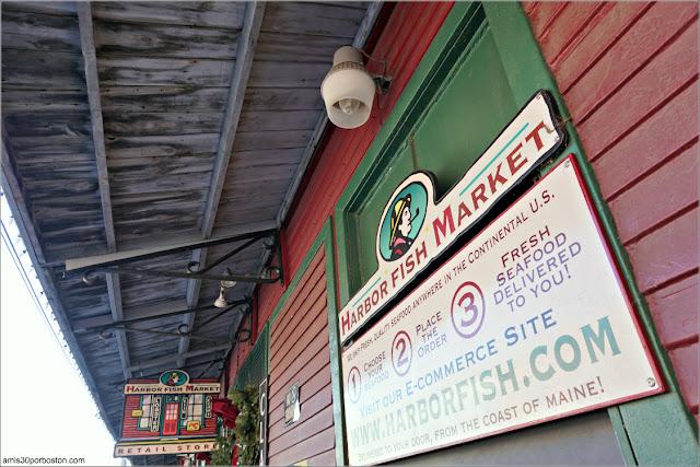 Pescadería Harbor Fish Market en Portland, Maine