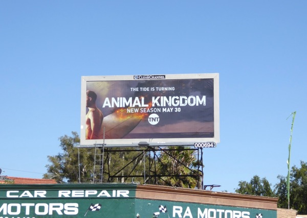 Animal Kingdom season 2 billboard
