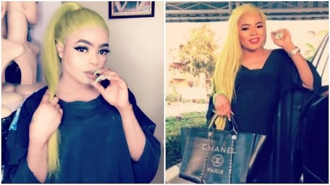 Bobrisky speaks on giving birth to a child