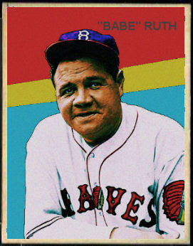 Cards That Never Were 1935 Diamond Stars Babe Ruth