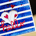 blaue Streifen und zarte Herzen..... {Cardmaking...}