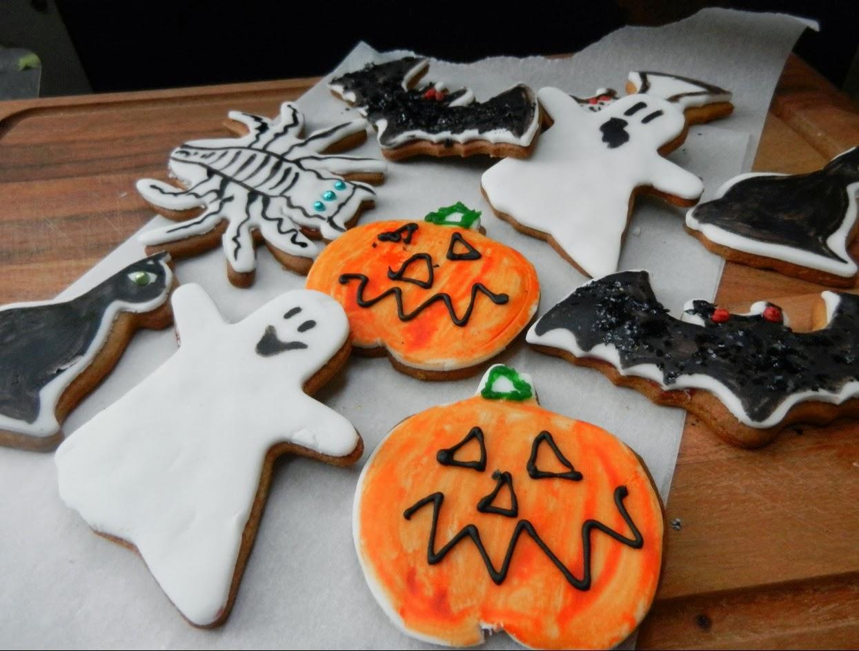 Healthiana Cookies Decorating Ideas For Halloween 2013