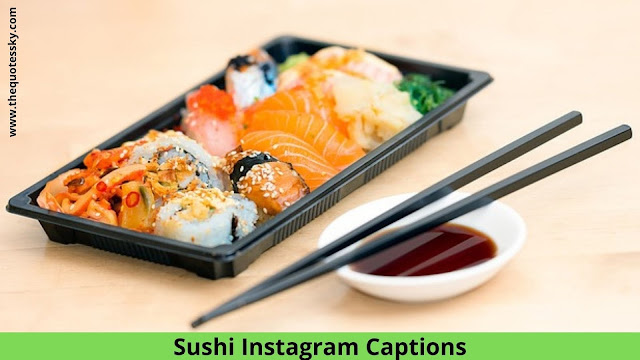 67+ Best Sushi Instagram Captions And Quotes For your Sushi Picture [ 2021 ]