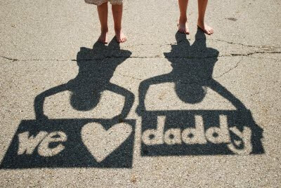 Shadow Photography for fathers day gift