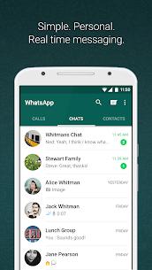 WhatsApp Messenger Mod v2.20.1 (Dark With Privacy) Apk