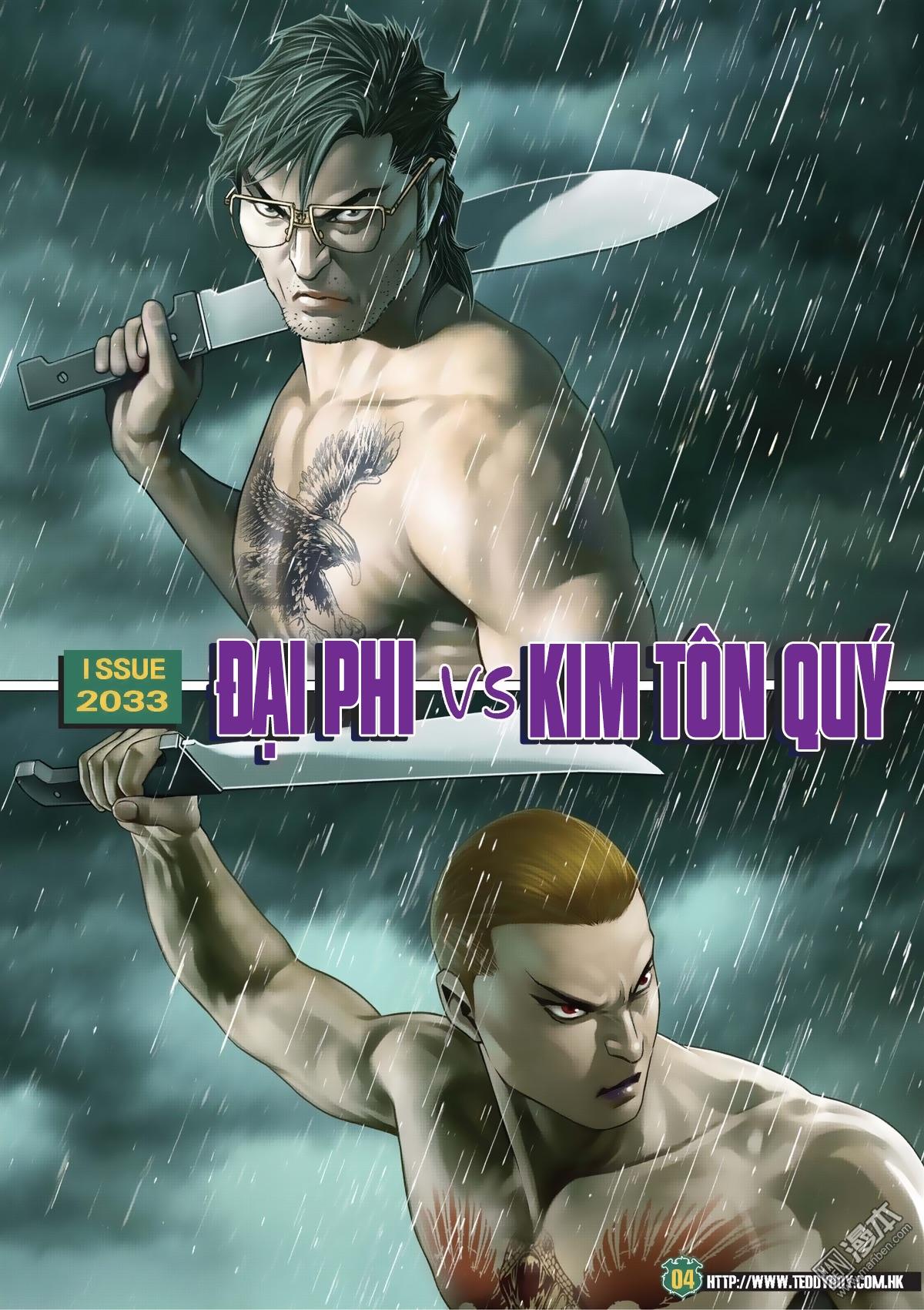 Người Trong Giang Hồ chapter 2033: kim tôn quý vs đại phi trang 2
