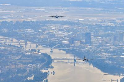 Little Rock Air Base C130