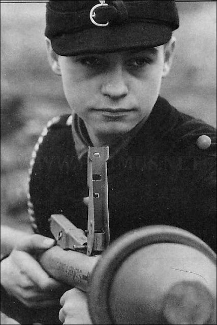 WW2  German boy soldier